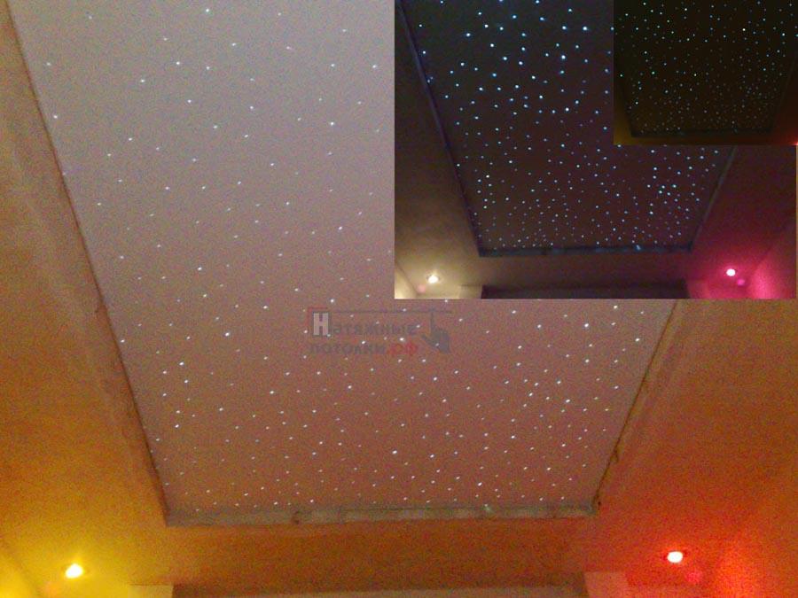 Как сделать потолок из звезд